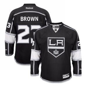Dustin-Brown-Reebok-Los-Angeles-Kings-Official-Home-Black-Premier-Jersey-Men-039-s