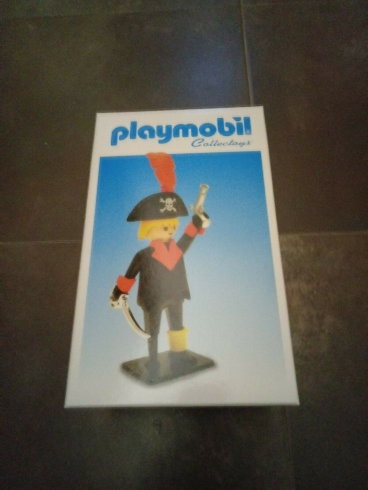 Playmobil Plastoy Collectoys – Capitán Pirata RESINA 25 cm. Made in France