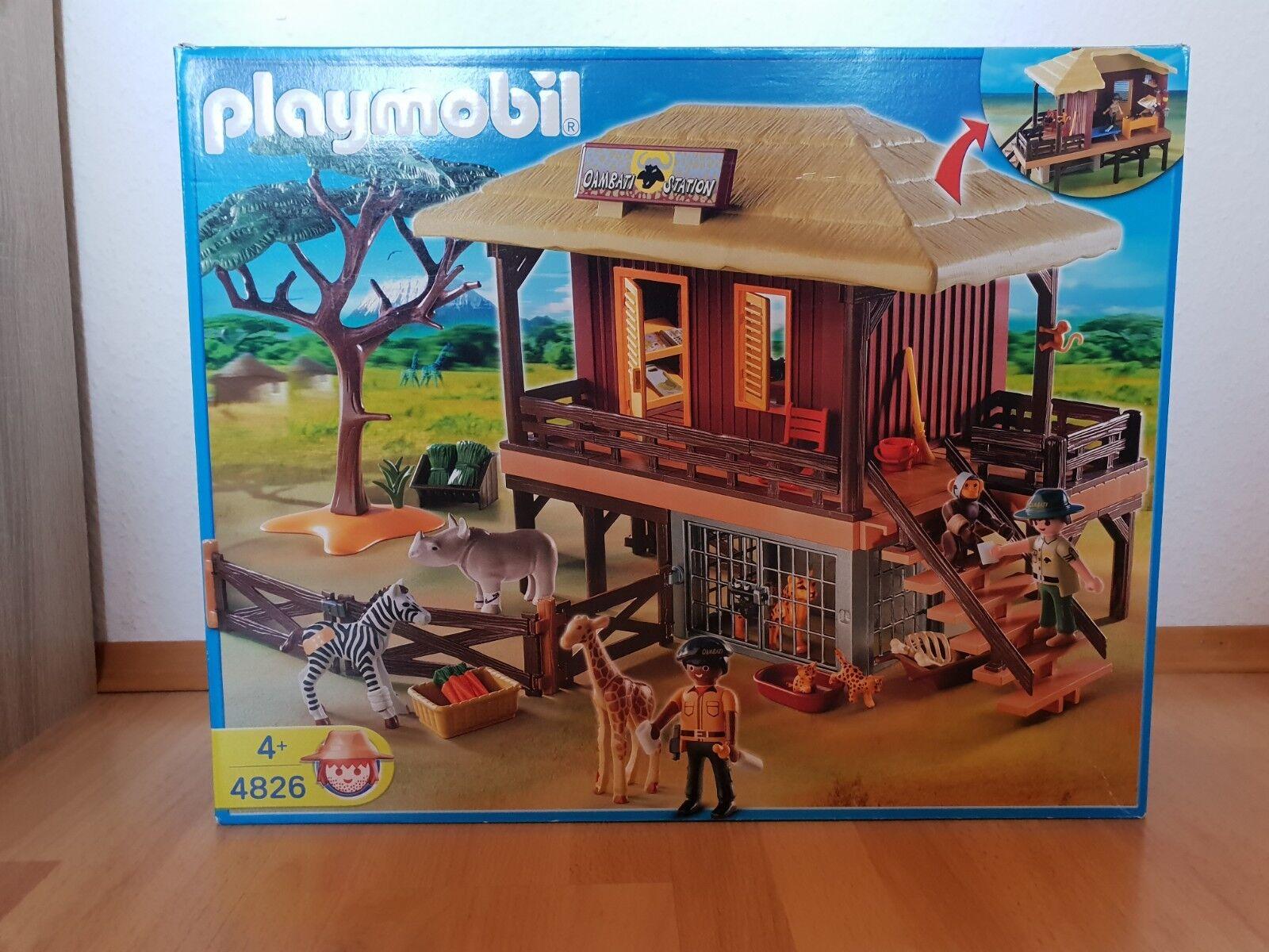 Playmobil 4826 -- Wildtierpflegestation Oambati -- OVP