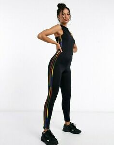 ajo Enfermedad infecciosa importante  XS adidas OG Women's slim fit STAGE SUIT full BODYSUIT UK6-US2 Black LAST1  | eBay