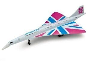 CORGI-LONDON-2012-OLYMPIC-GREAT-BRITISH-CLASSICS-CONCORDE-TY84005-DIECAST-RARE