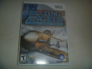 Blazing-Angels-Squadrons-Of-WWII-2007-Nintendo-Wii-Complete-Game
