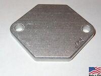 86-04 Mustang Gt/cobra Billet Aluminum Iac Idle Air Control Delete (plate Only)
