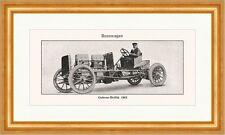 Gobron Brillie 1903 coches de carreras rueda dentada cabrio 100 CV Sport enciclopedia 018