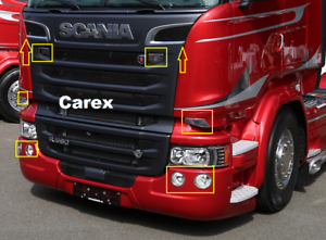 Scania-R-P-G-Series-Truck-styling-Chrome-Cover-Set-10-pcs-Stainless-Steel