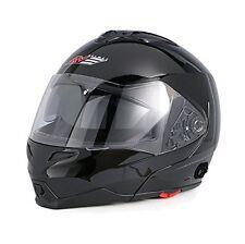 AVE A-20 Atom Modular Flip-Up Motorcycle Helmet Drop Down Sun Visor MEDIUM
