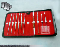 Dental Lab Stainless Steel Kit Wax Carving Tool Set Surgical Instrument Wx-0032