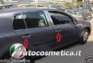 Copri-Maniglie-Cromate-VW-Golf-IV-V-Passat-B5-Polo-9n-9n3-UP-Audi-A2-Seat-Leon
