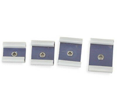 JEWELERS  WATCHMAKERS REPLACEMENT RECTANGULAR DIES FOR PRESS CASE 4 PCS New