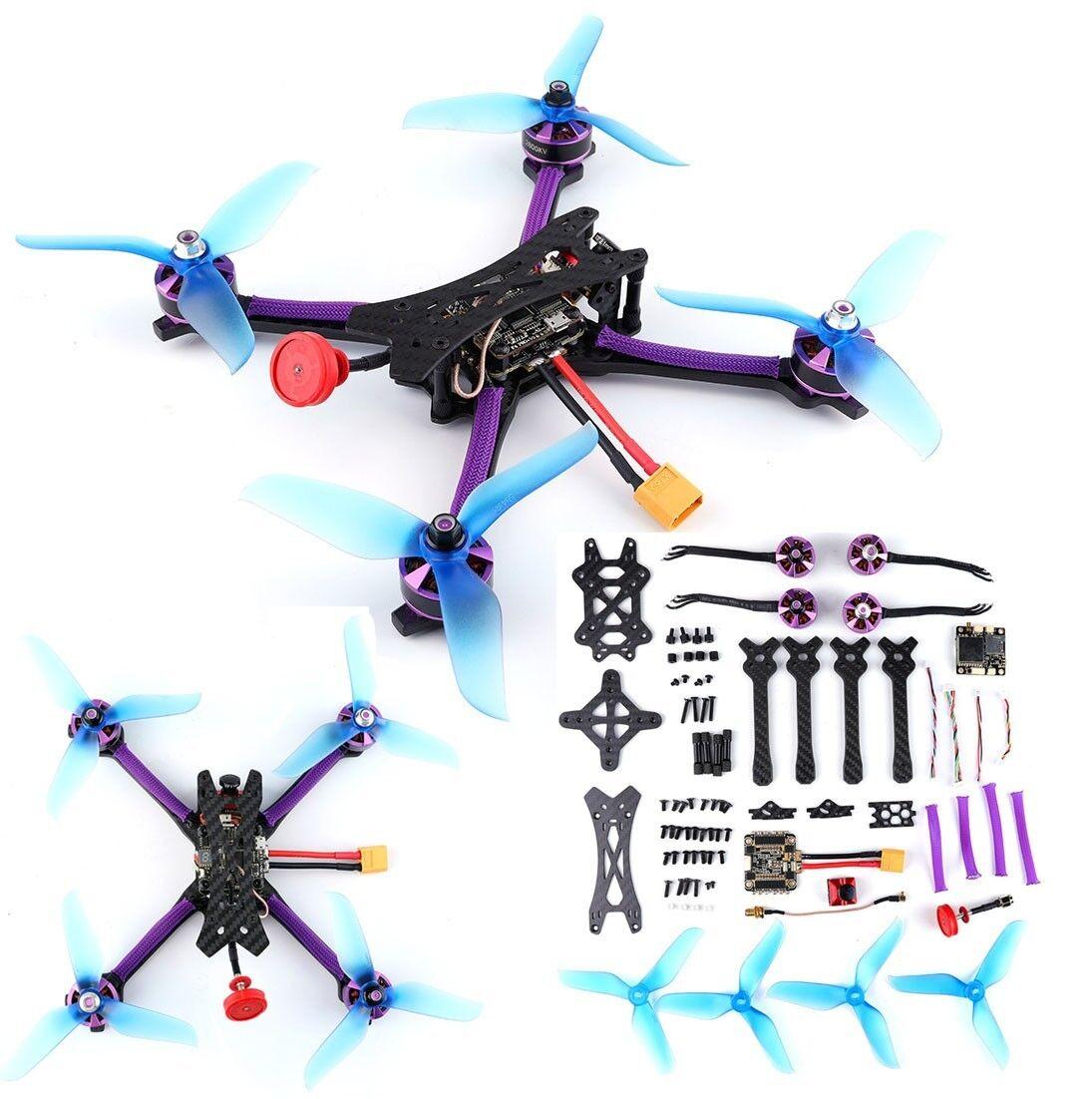 Q215MM FPV Cuadricóptero Drone HAZLO TÚ MISMA Kit de marco de motor 800TVL montada 5.8G 48CH