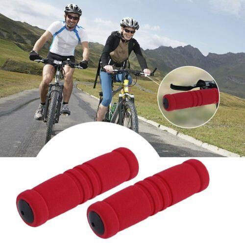 1 Pair MTB Bike Bicycle Handle Handlebar Soft Durable Sponge Bar Grip Covers DT