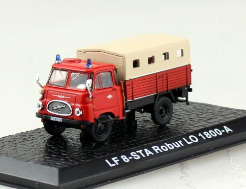 Robur Lo 1800A LF8 STA Feuerwehr Atlas 1:72 Modellauto