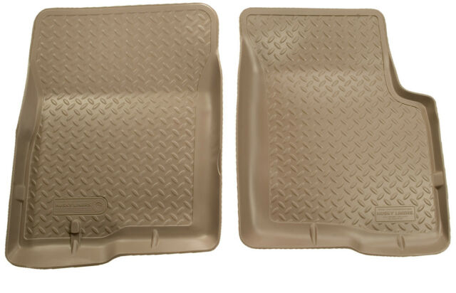 Husky Classic Tan Front Floor Liners/Mats Toyota Sequoia/Tundra AC/STD 2000-2004