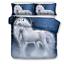 3D-hermoso-castillo-unicornio-Cubierta-Del-Edredon-Edredon-Cubierta-Juego-de-cama-funda-de-almohada miniatura 23