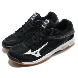 Mizuno-Thunder-Blade-Black-White-Gum-Men-Badminton-Volleyball-Shoes-V1GA1770-08