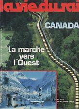 la vie du rail N°2023 canada   1985