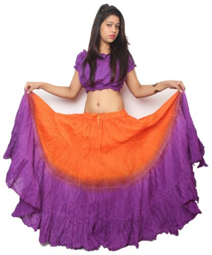 """42/"""" inches long 25 yard Belly Dance skirts Plus Size skirts"""
