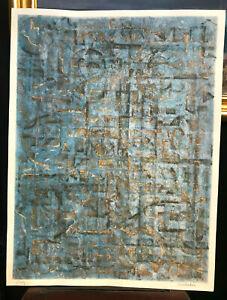 Jesse-Jay-Mcvicker-Original-mixed-media-proof-modem-abstract-circa-1950-s