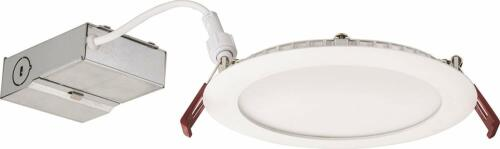 White Ceiling Light 6-inch Wafer LED WF6 LED 30K MW M6 Lithonia Lighting