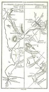 Antique-map-Roads-from-Omagh-to-Cookstown-Dungannon-and-Stewartstown