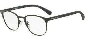 Beauty & Gesundheit Augenoptik Ehrlichkeit Emporio Armani 1059 53 3001 Matte Black Occhiale Ansicht Eyewear Lunettes