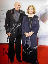JOACHIM FUCHSBERGER (+) & GUNDULA KORTE original signiert – GROSSFOTO !!