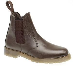scuro pelle Dealer On marrone Taglie Mens Chelsea alla Boots 14 dalla Grafters In 6 Slip 5axqRIYSIw