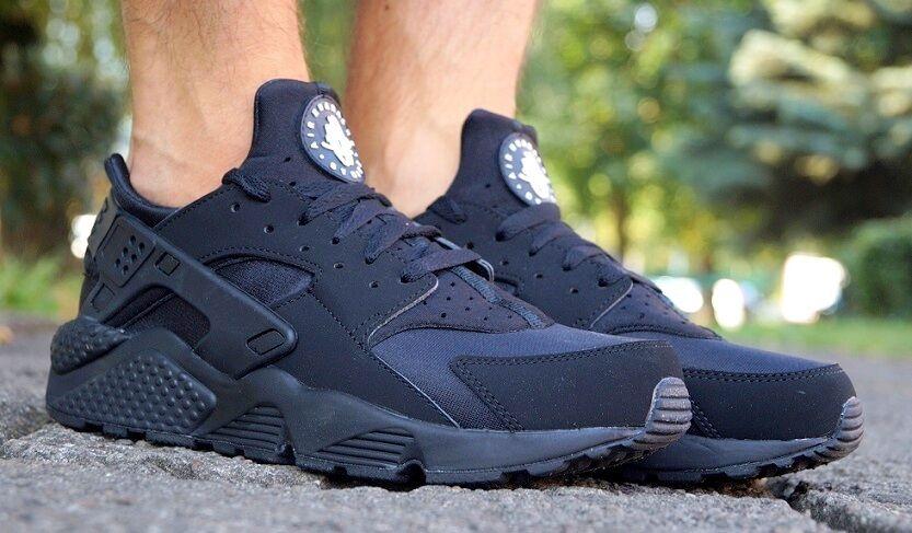 Nike Schuhe NIKE AIR HUARACHE Herren Laufschuhe Freizeit Turnschuhe 318429003