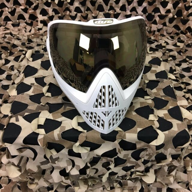 New Dye I5 Paintball Mask Goggle White Gold For Sale Online