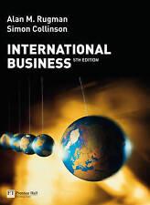 International Business by Alan M. Rugman, Simon Collinson (Paperback, 2008)