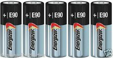 5 New Fresh Energizer E90 N LR1 MN9100 910A 1.5V Alkaline Batteries