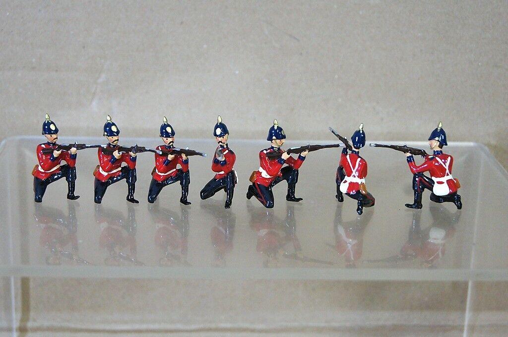 Kopie Modelle Patrick Campbell Viktorianische Line Infanterie kniend brennen x 7
