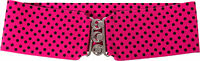 1950s 3 Adult Cinch Hot Pink With Black Dots Belt (poodle Skirt Costume Dance)