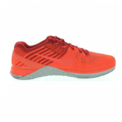 Mens NIKE METCON DSX FLYKNIT Total Crimson Trainers 852930 800