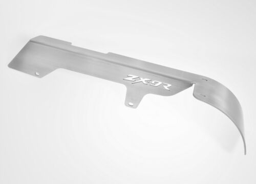 ZX9R ZX 900 ZX9-R LICENSE PLATE CHAIN GUARD TAG RELOCATOR BRACKET COVER 208ZX9R