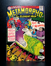 COMICS: DC: Metamorpho #4 (1966) - RARE (batman/flash/wonder woman)