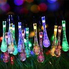 Outdoor Solar Powered 30 LED String Light Garden Path Yard Landscape Lamp Decor