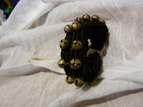 Ghungru NERO JINGLE BELL ballare etnica fußschelle campanello Indo 20cm