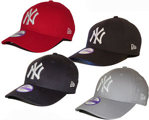3899e27fa25004 New Era Kids Baseball Cap NY Yankees League Basic Adjustable 940 cap ...