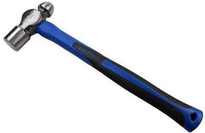 Heavy Duty 40oz Ball Pein Hammer With Tpr Handle Mechanics Engineers Us Pro 3301