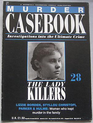Murder Casebook Issue 28 - Lizzie Borden, Styllou Christofi, Parker & Hulme