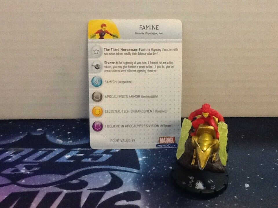 Marvel Heroclix Giant-Size X-Men Famine (Limited Edition) SW (HCB28)