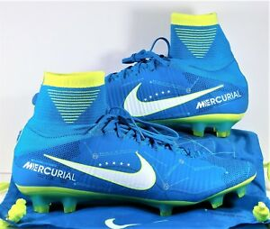 Nike Mercurial Superfly V FG Neymar Flyknit Soccer Cleats Sz 11 NEW ... d6a9b38d3