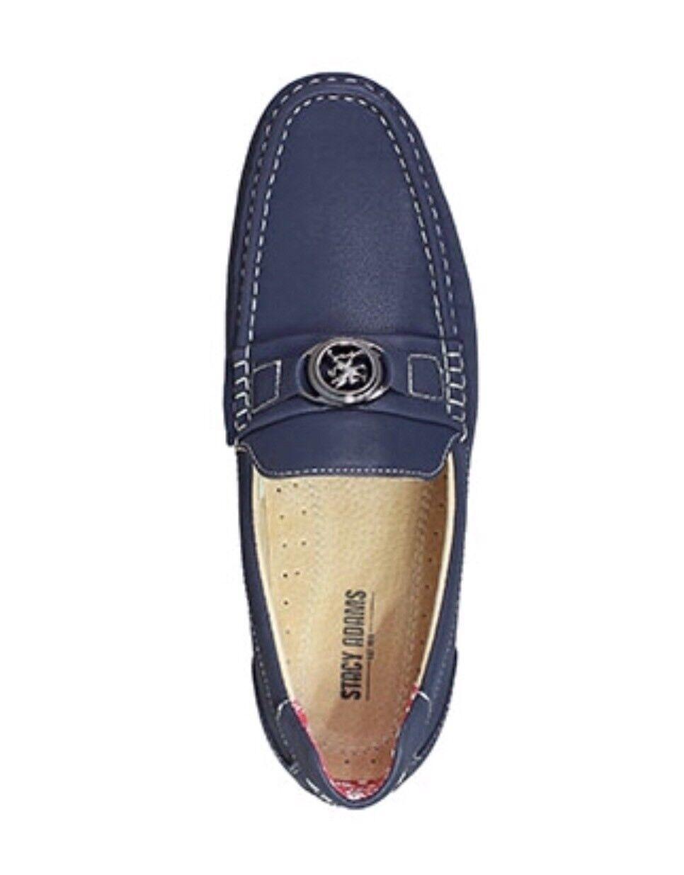 Stacy Adams 13M Loafer Blue Driving Loafer 13M Moccasins 25173-410 c0151d