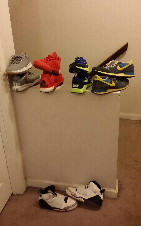Mens Jordan Adidas Nike Vortex Size 10.5-11.5 shoes