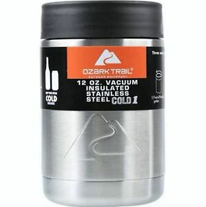 c5201c38f20 Image is loading Ozark-Trail-12-oz-Vacuum-Insulated-Stainless-Steel-