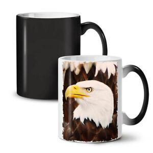 Eagle Freedom Face NEW Colour Changing Tea Coffee Mug 11 oz   Wellcoda