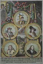 "Dietfurt - Kupferstich aus ""Fortitudo Leonina..."" Max Emanuel - 1715 - Prächtig"
