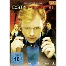 "CSI MIAMI ""SEASON 3"" 6 DVD SET TV SERIE NEU"
