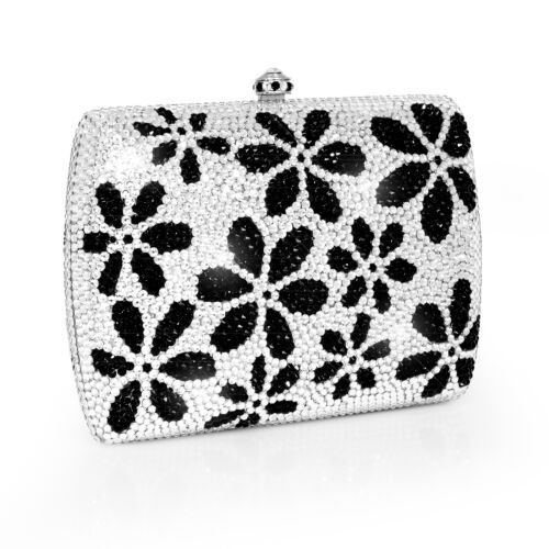 Dolli Sage Crystal Clutch Purse $695 RETAIL Assorted Colors